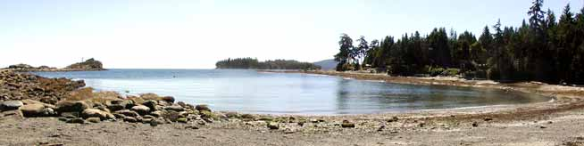 Photo of Morning Beach, Galiano Island, (c) 2004 Sands of Morning Beach Bed & Breakfast